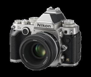 Nikon Df silber