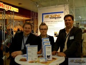 von Links Matthias Herbst, Jan-Hendrik Esdohr, Kay Kisser