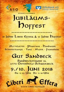 Jubiläums Hoffest in GUT SANDBECK